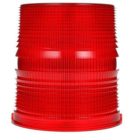 Truck-Lite 99220R Circular, Red, Polycarbonate, Replacement Lens, Threaded Fit