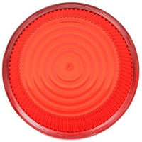 Truck-Lite 99221R Circular, Red, Polycarbonate, Replacement Lens, Threaded Fit
