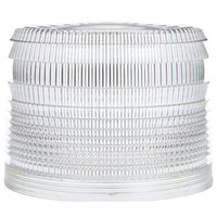 Truck-Lite 99221W Circular, Clear, Polycarbonate, Replacement Lens, Threaded Fit