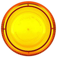 Truck-Lite 99250Y Yellow Round Replacement Lens for Strobes Beacons