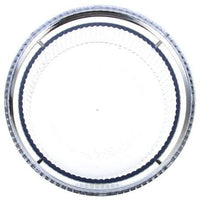 Truck-Lite 99252C Circular, Clear, Polycarbonate, Replacement Lens, Threaded Fit