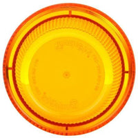 Truck-Lite 99252Y Circular, Yellow, Polycarbonate, Replacement Lens, Threaded Fit, Replacement Lens, Truck-Lite