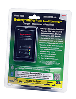 BatteryMINDer® Model 1500: 12Volt 1.5 Amp Maintenance Charger-Desulfator