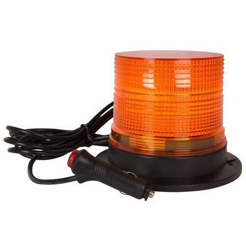 Blazer C40AW Amber LED Standard Profile Alert Beacon, Magnetic Mount, Plug in - Levine Auto and Truck Lighting
