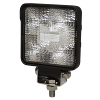 ECCO E92007 Square, 5 LED, Flood Beam Worklamp - Levine Auto and Truck Lighting