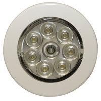 "ECCO EW0220 Interior LED 2.8"" Round, White, Switched, Surface mount 12V - Levine Auto and Truck Lighting"