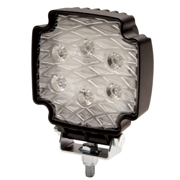 ECCO EW2101 Equinox™ Square 6 LED, White Flood Beam, Worklamp - Levine Auto and Truck Lighting