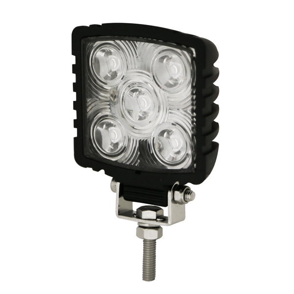 ECCO EW2470 Compact Square 5 LED, Spot Beam, Worklamp - Levine Auto and Truck Lighting