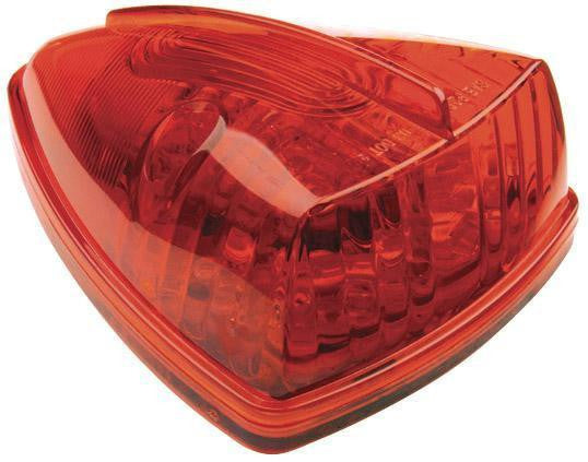 Grote G5052 Red Hi Count School Bus Wedge LED Marker - Levine Auto and Truck Lighting
