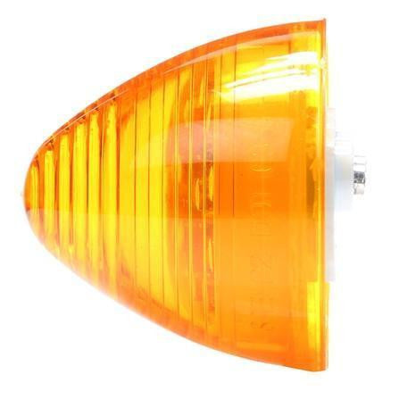 Truck-Lite 3075A LED, Yellow Beehive, 10 Diode, M/C Light, P2, 12V, LED Clearance Marker Lights, Truck-Lite
