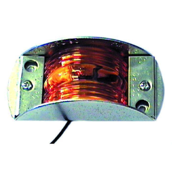 Arrow A088-50-322  Red Armored LED Marker Light, Self-Grounding. - Levine Auto and Truck Lighting
