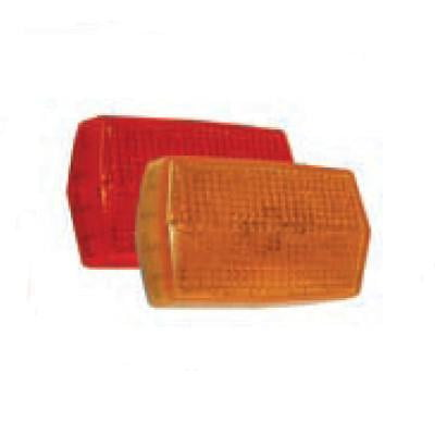 Arrow A016-00-112 Amber Marker Light with Reflex Lens and Black Base