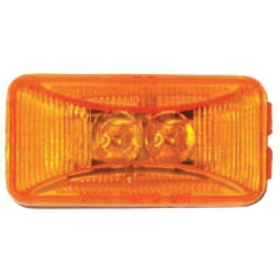 Arrow A025-50-012  Amber Sealed LED Marker Light - 2 Diodes. - Levine Auto and Truck Lighting