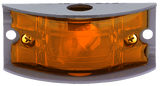 Arrow A055-00-512 Amber Armored Marker Light - Steel w/ One 12V  bulb, 4 C.P. - Levine Auto and Truck Lighting