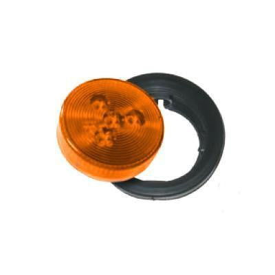 Arrow A076-00-112 Amber Round LED Marker Light with Grommet And  Pigtail. - Levine Auto and Truck Lighting