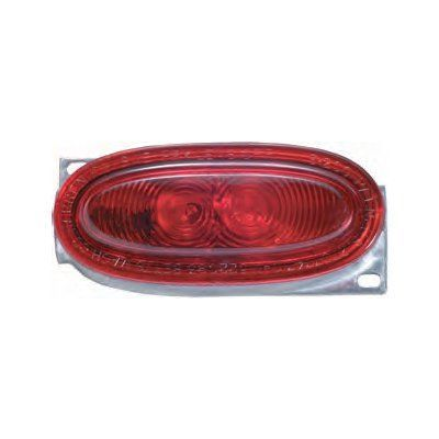 "Betts 200211 Red LED, Clearance & Side Marker Lamp aluminum body One 1/8"" N.P.T End Entrance."
