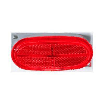 Betts 211014 Red Plug & Seal Marker Light, Reflective Lens 4 inch Plug