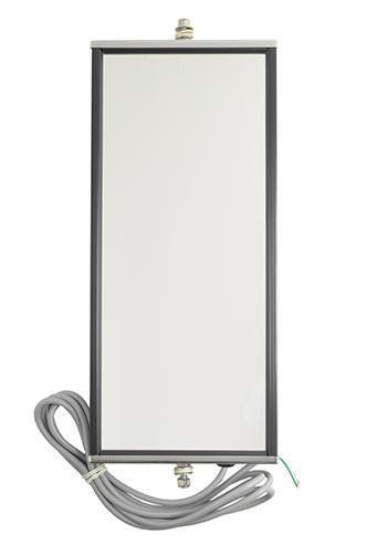 Grote 16053 Ice and Frost-Free Heated West Coast Mirror, Stainless Steel