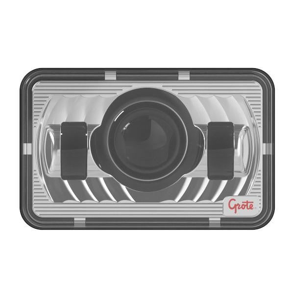 Grote 94421-5 LED Sealed Beam Replacement Headlight, 4x6 Low Beam - Levine Auto and Truck Lighting