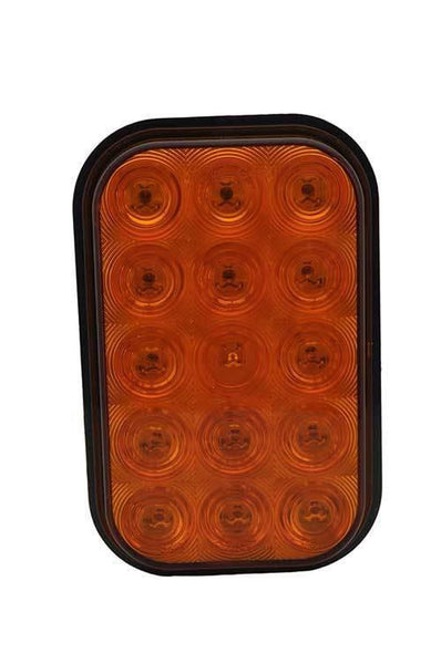 Grote G4503 Yellow Hi Count® Rectangular LED Stop Tail Turn Lights - Levine Auto and Truck Lighting