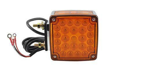 Grote G5540 Red/Yellow Hi Count® Double-Face LED Stop Tail Turn Light w/ Side Marker, RH - Levine Auto and Truck Lighting