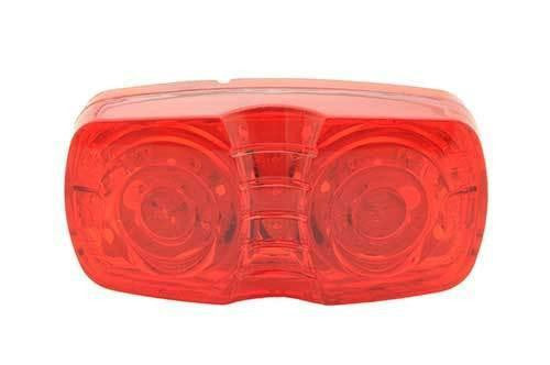 Grote G4602 Red, Hi Count® Square-Corner 13-Diode LED Clearance Marker Lights - Levine Auto and Truck Lighting