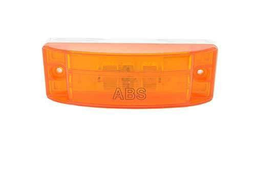 Grote 78363 Yellow ABS, Optic Lens, Sealed Turtleback® II Clearance Marker Light - Levine Auto and Truck Lighting