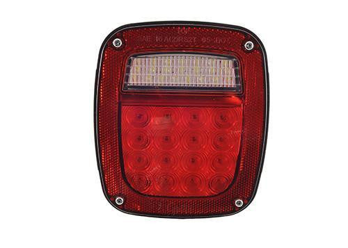 Grote G5202 Red Hi Count® LED Stop Tail Turn Light, RH w/ Side Marker - Levine Auto and Truck Lighting