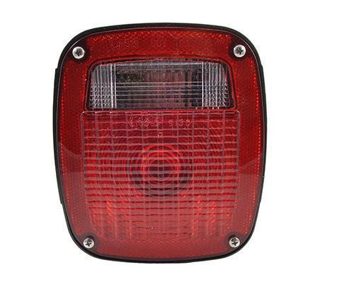 Grote 50920 Red Supernova® Three-Stud LED Stop Tail Turn Light, w/ License