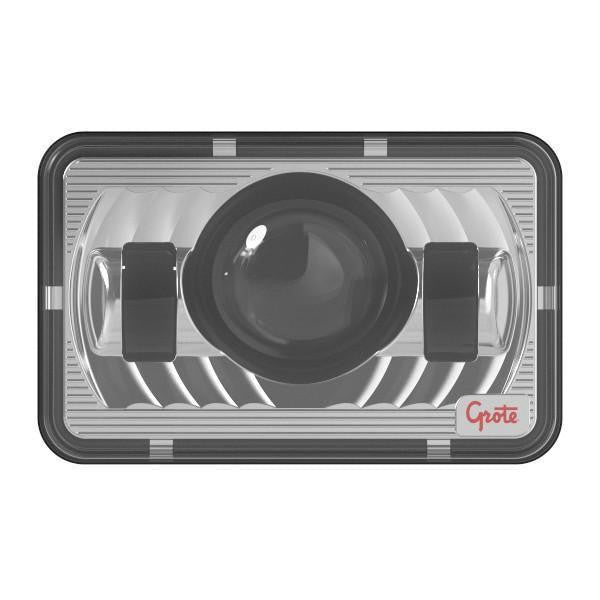 Grote 94411-5 LED Sealed Beam Replacement Headlight, 4x6 High Beam - Levine Auto and Truck Lighting