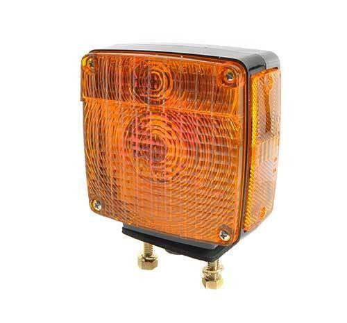 Grote 55470 Two-Stud Plug-In Light w/ Side Marker Red/Yellow