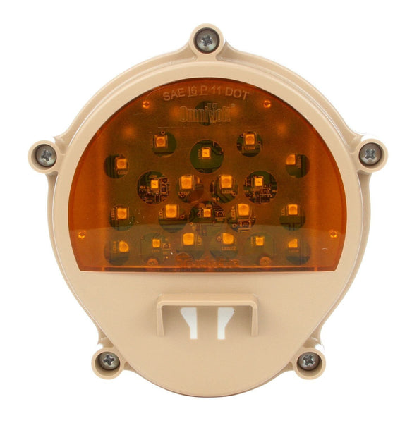 Truck-Lite 07427 Military Tan Front LED Composite Lamps w/Bucket