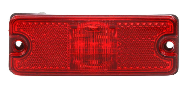 Truck-Lite 18083R Military 18 Series Red LED Rectangular 3 Diode Replacement Light 12-24V