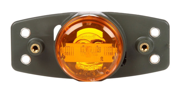 Truck-Lite 07334 Military LED Yellow Combo Marker Lamp, Green Bracket, Military Marker Clearance Light, Truck-Lite