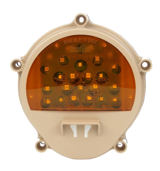 Truck-Lite 07359 Tan Military Front LED Composite Lamp w/o Bucket