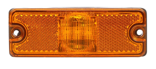 Truck-Lite 18083Y Military 18 Series Yellow LED Rectangular 3 Diode Replacement Light 12-24V