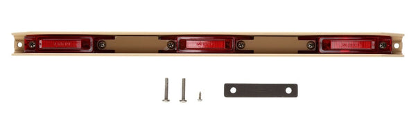 "Truck-Lite 35751R Military led Red ID Bar Assembly, 6"" Centers, Tan Bracket, Military Marker Clearance Light, Truck-Lite"