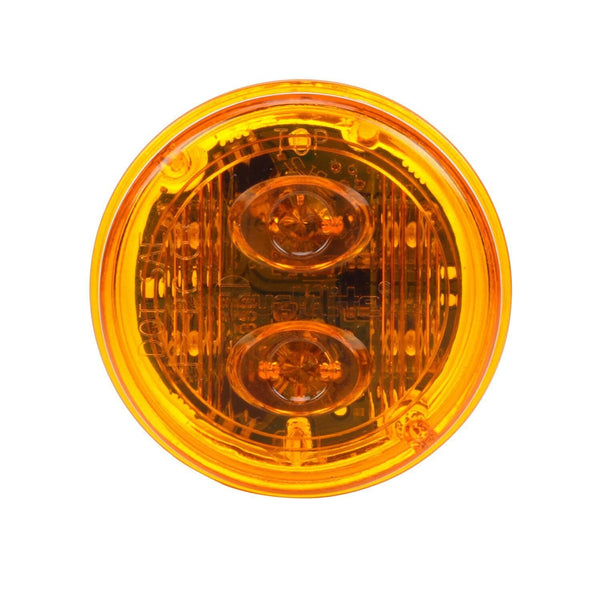 Truck-Lite 30886Y Model 30 SERIES PC-RATED Yellow Lamp Only, Military Marker Clearance Light, Truck-Lite