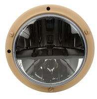 Truck-Lite 07377A Military LED Headlamp w/ Tan Bucket Long Mount 12v/24v, Military LED Headlamp, Truck-Lite