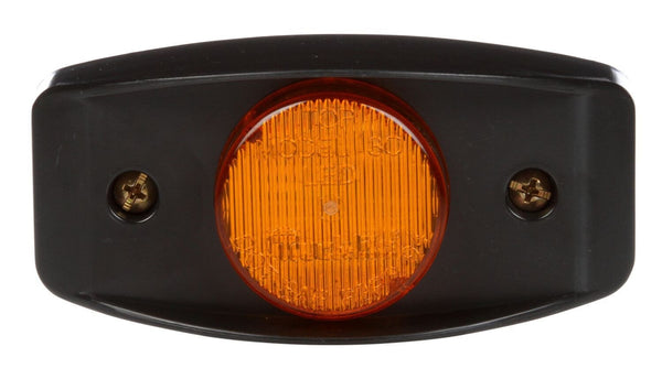 Truck-Lite 07173 Military LED Yellow Marker Lamp w/ Black Bracket, Military Marker Clearance Light, Truck-Lite