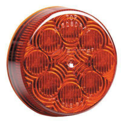 "Maxxima M16280R Red 2.5"" LED Round Clearance Marker Light"
