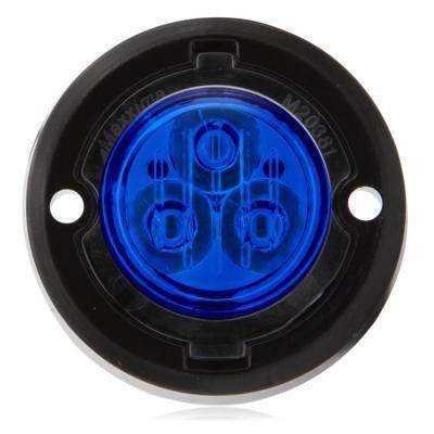 Maxxima M20381BCL Blue Clear Lens Warning Light