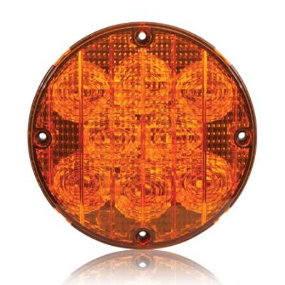"Maxxima M90070Y Amber 8 LED 7"" Warning Light"