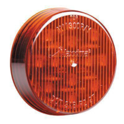 "Maxxima M11300R Red 2.5"" LED Round Clearance Marker Light"