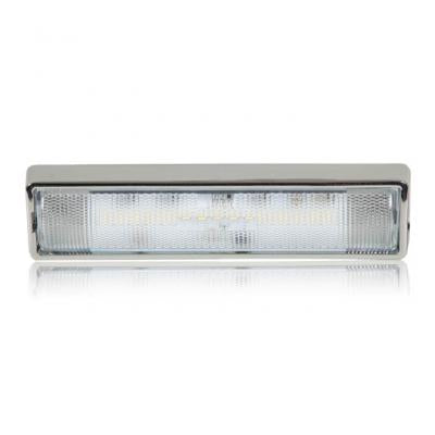 Maxxima M84446CH Chrome Rectangular 240 Lumens Interior Compartment Light