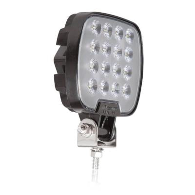 Maxxima MWL-43 Square 16 LED Black Work Light 2100 Lumen 12/24VDC