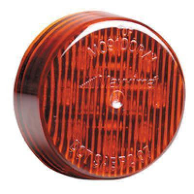 "Maxxima M09100R Red 2"" Round LED Clearance Marker Light"