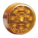 "Maxxima M09100Y Amber 2"" Round LED Clearance Marker Light"