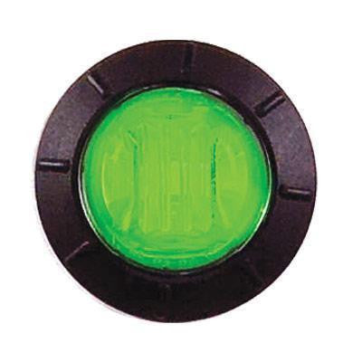"Maxxima M09300G Green 3 LED 3/4"" Round Auxiliary Lights"