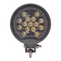Maxxima MWL-19-A-MH Round 15 LED MaxxHeat Heated Lens Work Light 12/24VDC